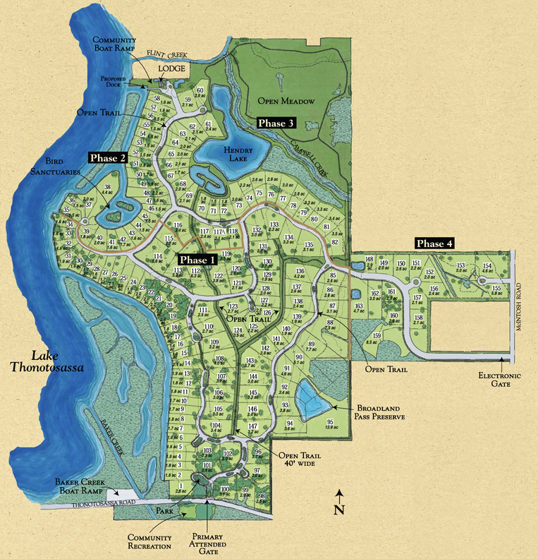 Stonelake Ranch Map