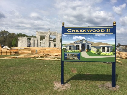 Creek Wood II - block stage